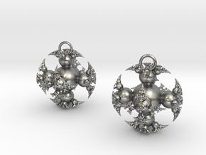 IF Kleinian Earrings in Natural Silver