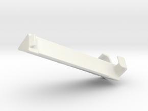 Blind Valance Return 04A in White Natural Versatile Plastic