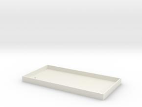 phone case.stl in White Natural Versatile Plastic