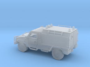 IVECO-LMV-Ambulancia-TT in Smooth Fine Detail Plastic