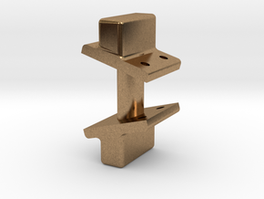 Mogul - Tender Side Bearing REV .625 plus 1% in Natural Brass