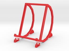 "Pad & Tablet Stand for 7"" Devices in Red Processed Versatile Plastic"