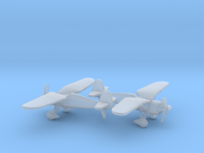 PZL P.24 in Smooth Fine Detail Plastic: 6mm