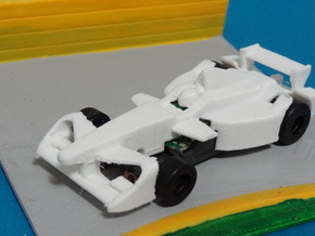 HO Formula E 2017 in White Natural Versatile Plastic