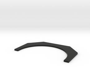 Uniflow Lid in Black Natural Versatile Plastic