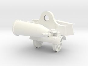 1.7 GUNSHIP SUPPORT 2 in White Processed Versatile Plastic