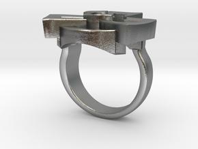 Radioactive ring - original in Natural Silver: 7 / 54