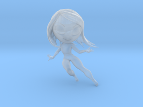 Water character in Smooth Fine Detail Plastic