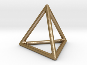 Simply Shapes Homewares Triangle in Polished Gold Steel