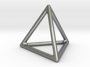 Simply Shapes Homewares Triangle in Natural Silver