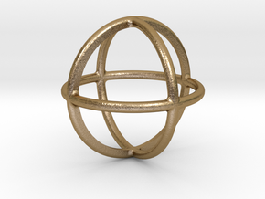 Simply Shapes Homewares Circle in Polished Gold Steel