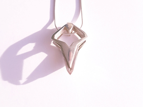 HEART TO HEART Heartronic, Pendant in Polished Silver