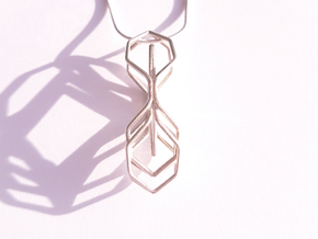 A-LINE Honeymotion, Pendant in Polished Silver