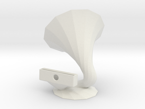 IPhone6 Speaker in White Natural Versatile Plastic