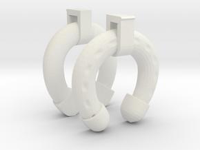 1/11 DKM UBoot VIICHorse Type Life Preserver in White Natural Versatile Plastic