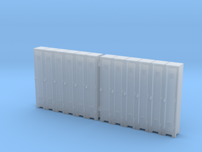 Locker 01. S Scale (1:64) in Smooth Fine Detail Plastic
