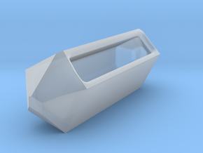 Go Geometric Homeware Keeper in Smooth Fine Detail Plastic
