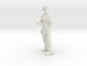 Printle C Homme 901 - 1/32 - wob in White Strong & Flexible