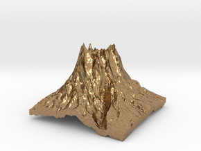 Mountain 2 in Natural Brass: Small