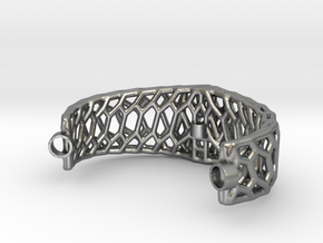 Mod. 80330-Voronoi in Natural Silver