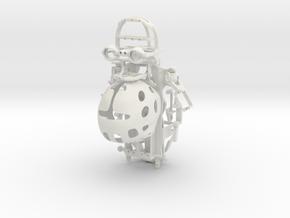 BABY MECH entire build (Nano) in White Natural Versatile Plastic