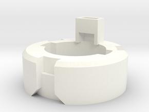 DM1 - Part 4/5 Speakerholder 20mm in White Processed Versatile Plastic