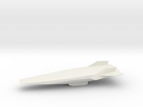 Hyper-X1/30 in White Natural Versatile Plastic