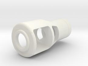VK16.02 Leopard Muzzel in White Natural Versatile Plastic