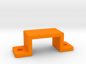 OX CNC - Drag Chain Clamp (10x20) v1 in Orange Strong & Flexible Polished