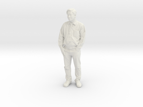 Printle C Homme 979 - 1/30 - wob in White Natural Versatile Plastic