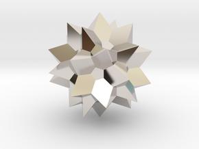 Go Geometric Homeware Star in Platinum: Small