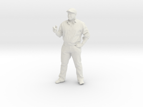 Printle C Homme 200 - 1/30 - wob in White Natural Versatile Plastic