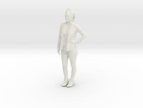 Printle C Femme 128 - 1/30 - wob in White Natural Versatile Plastic