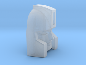 Professor's G1 toon face in Smooth Fine Detail Plastic