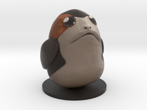 Chubby Porg in Full Color Sandstone