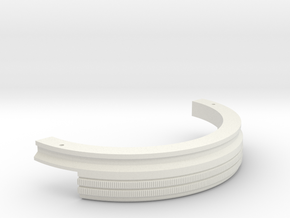 Neck top in White Natural Versatile Plastic