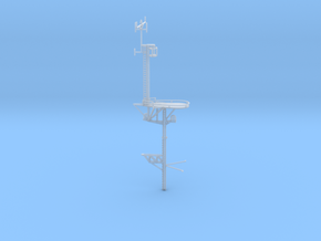 1/192 USN BB59 Main Mast in Smooth Fine Detail Plastic