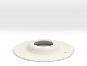 WindowCrank_Gasket in White Strong & Flexible