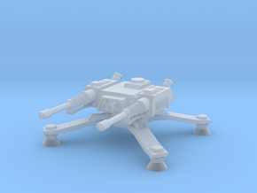 Laser Spider Turret in Smoothest Fine Detail Plastic