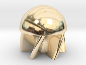 Parabolic First-Strike .68 Caliber Paintball in 14k Gold Plated Brass