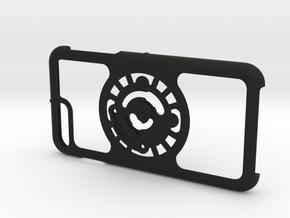 for iPhone 8Plus - 7Plus : core : CASECASE CLICK in Black Premium Versatile Plastic