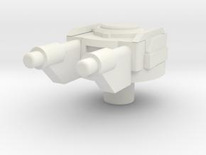 space gun in White Natural Versatile Plastic