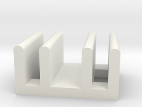 train joint in White Natural Versatile Plastic