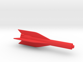 Captain Action IDEAL 1967 Rocket Body in Red Processed Versatile Plastic