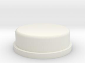 AT-AT Commander Round Edge in White Natural Versatile Plastic