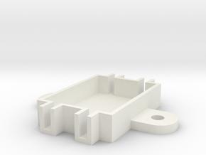 Step Down Converter For LED Board Holder in White Natural Versatile Plastic