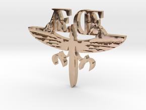 AEOE Charm in 14k Rose Gold