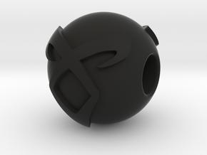 Shadowhunters Charm in Black Premium Versatile Plastic