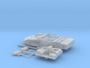 Leopard-2E-H0-Piezas torre-SH-proto-01 in Smooth Fine Detail Plastic