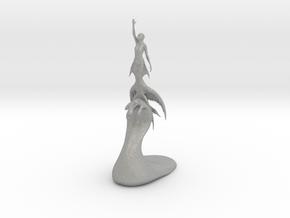 Rising_mermaid_v3 in Aluminum